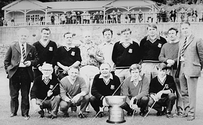 Our first Barton Cup winning team 1971